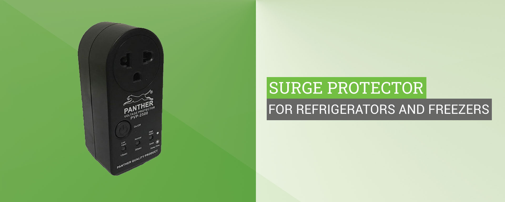 Power Surge Protector For Refrigerator
