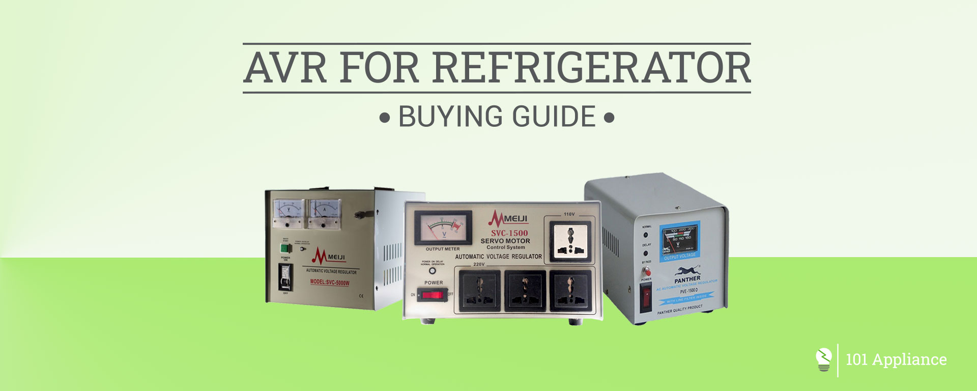 AVR for refrigerator buying guide