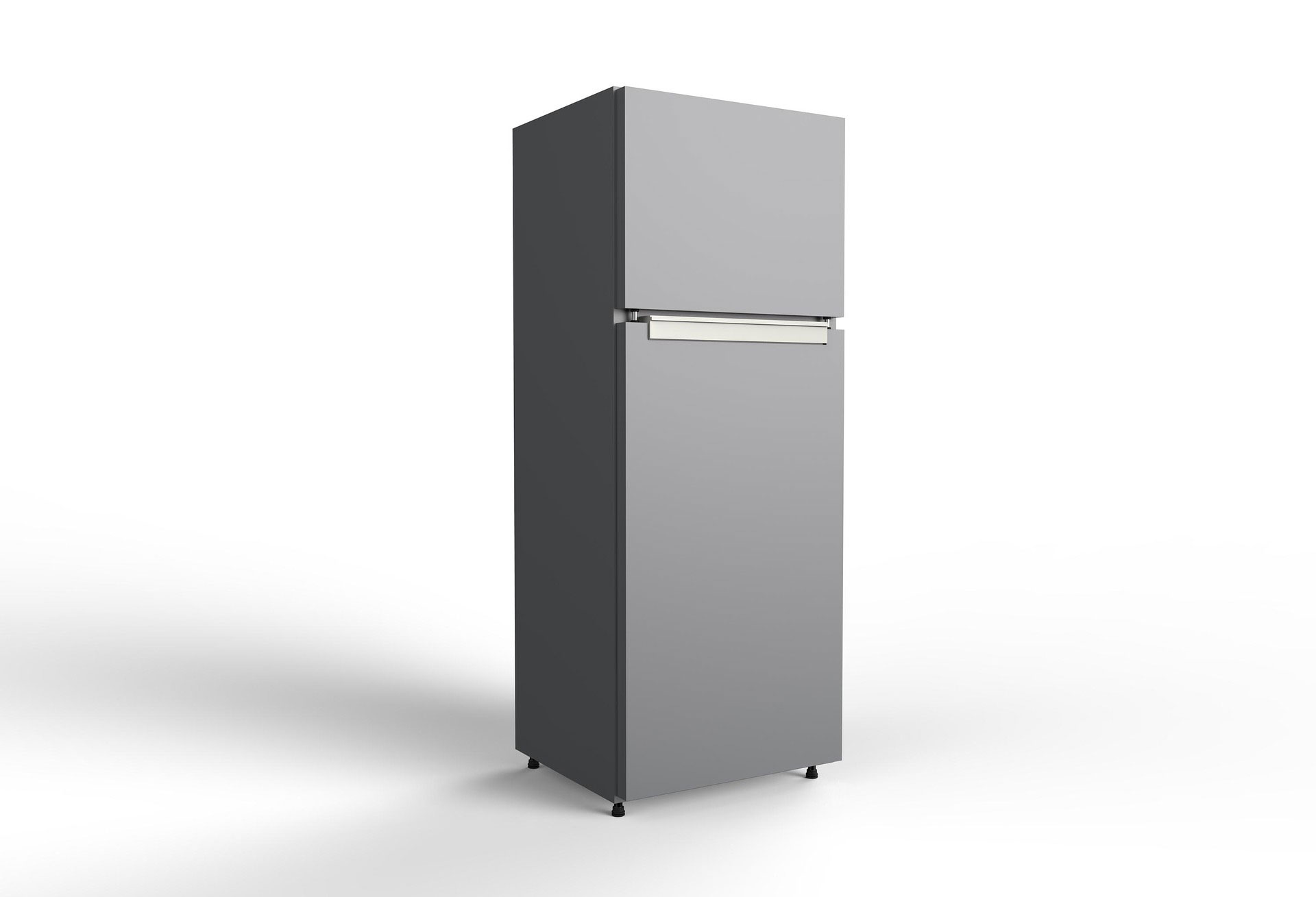 Lay a refrigerator on its side