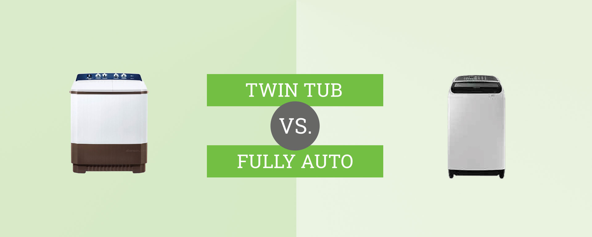 twin tub vs. fully automatic washing machine