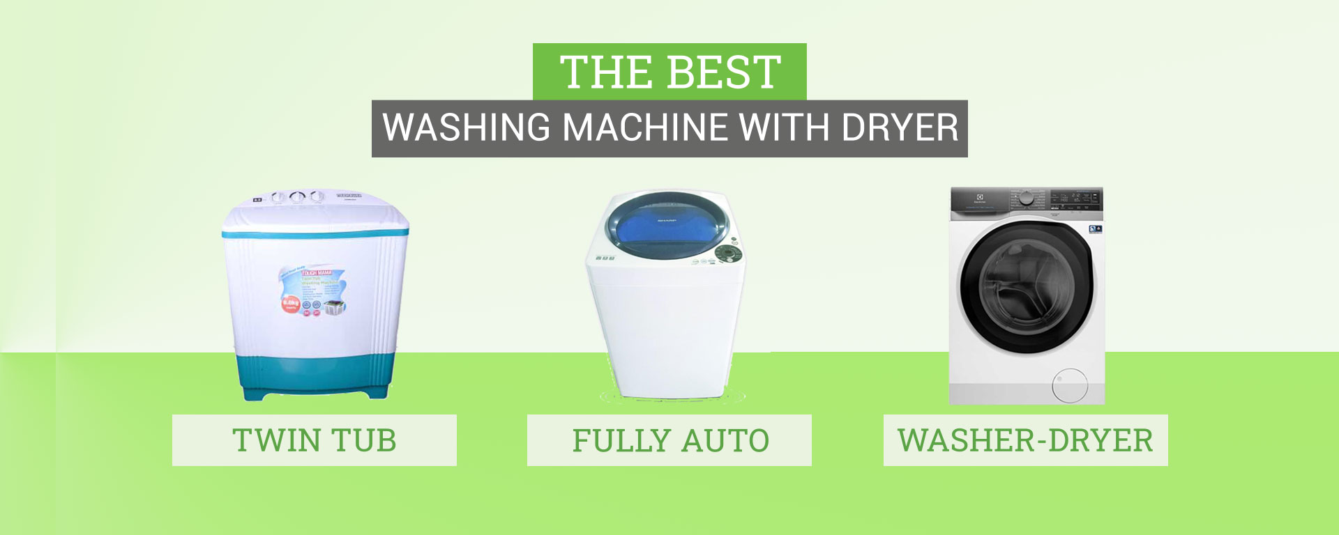 Washing Machine with Dryer Philippines